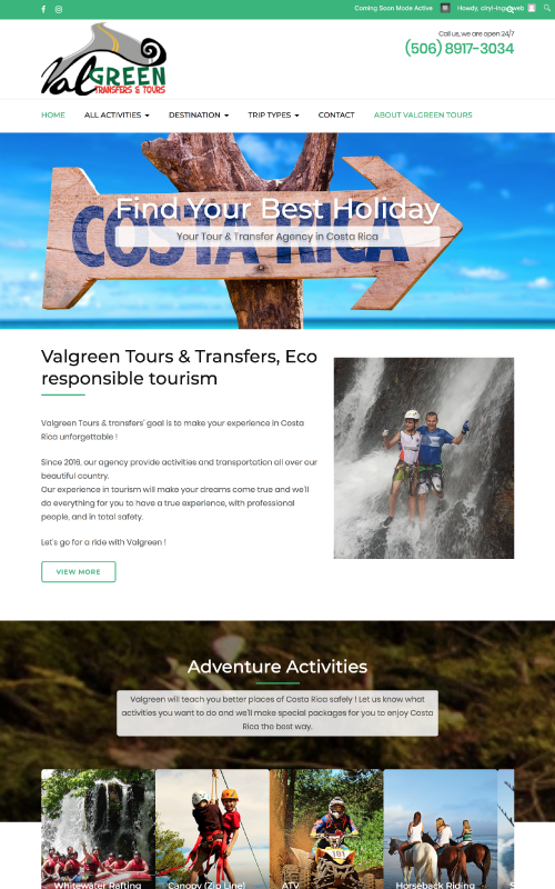 valgreen_website