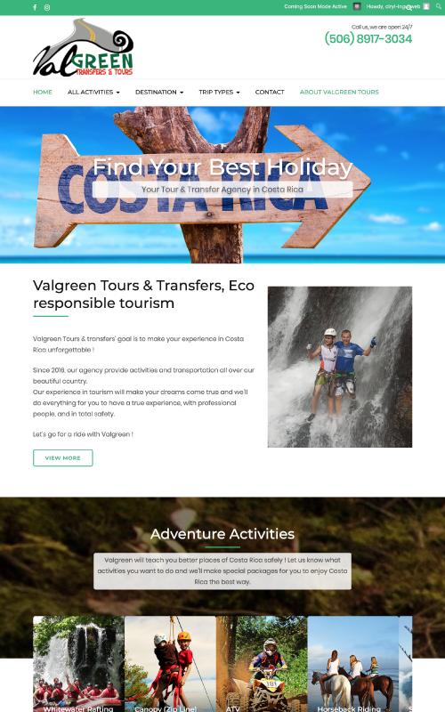valgreen_website
